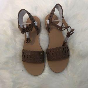 Jack Rogers Ruby Cognac shoes